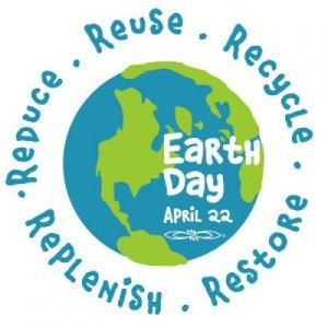 Earth Day: Reduce, reuse, recycle, replenish, restore